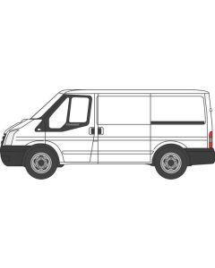 Oxford Diecast Ford Transit Mkv SWB Frozen White Low Roof 76FT036