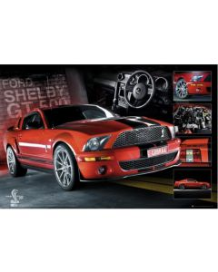 Easton Red Mustang Maxi Poster by GB Eye GN0566