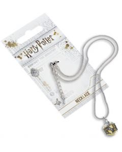 Harry Potter Hufflepuff Crest Necklace by The Carat Shop WN0024