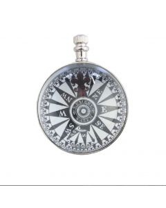 Authentic Models Eye of Time Clock, Nickel SC051