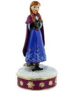 DI148 Princess Anna From Disney's Frozen Trinket Box by Widdop & Co