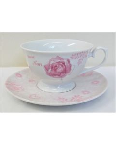 Nan with love Fine China Cup and Saucer by Jennifer Rose LP33137