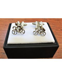 279763 Bicycle Cufflinks by equilibrium