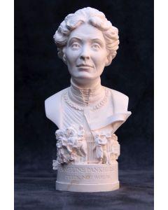 Emmeline Pankhurst Plaster Bust 13cm by Modern Souvenirs