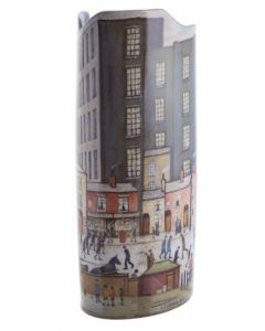 John Beswick Vase Lowry Coming from the Mill SDA22