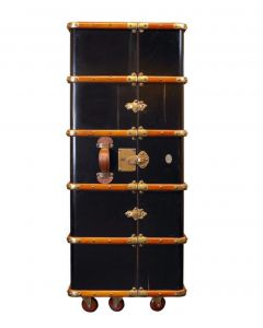 Authentic Models Stateroom Armoire, Black MF077B
