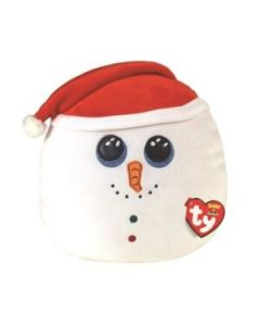 39213 Flurry Snowman Large Christmas Squishaboo by TY