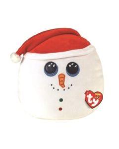 39309 Flurry Snowman Medium Christmas Squishaboo 25cm / 10 inches by TY
