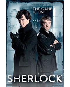 Sherlock Door Maxi Poster by GB Eye FP3264