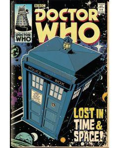 Dr Who Tardis Poster Comic FP3470