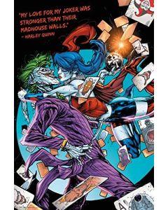 DC Comics Harley Kiss Poster FP3903