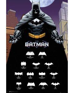 Batman Comic Logos Posters FP4181
