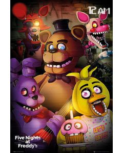 Five Nights at Freddy's Poster FP4433