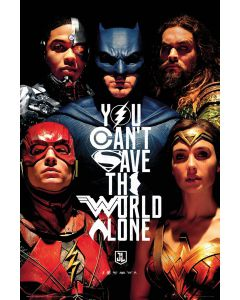 Justice League Movie Poster FP4560