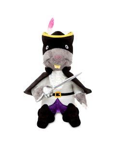 60849 The Highway Rat Plush Toy by Aurora World 22cm