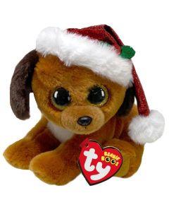 TY Howlidays Dog Christmas Beanie Boo 15cm 36240