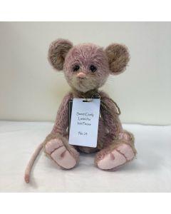 Charlie Bears Sweet Cicely Mohair Mouse 28cm SJ6040A