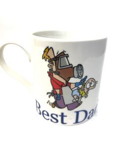 Best Dad Fine China Mug | The Leonardo Collection LP99849