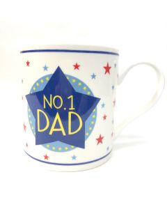 No.1 Dad Fine China Mug | The Leonardo Collection LP33551