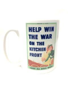 Help Win the War on the Kitchen Front Mug | IWM20697
