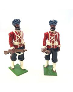 WBritain 2 Troopers 45th Rattray's Sikhs SPECIAL COLLECTORS EDITION   8838