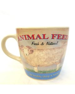 Animal Feeds Fresh & Natural Mug | Wiscombe Art W03SH