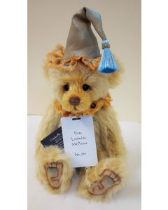SJ5973A Pinto Mohair Teddy Bear by Charlie Bears