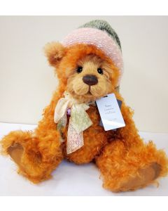 SJ5923 Nippy Mohair Teddy Bear by Charlie Bears
