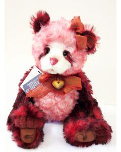SJ5921B Flamenco Mohair Teddy Bear by Charlie Bears