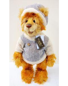 SJ5612 Gus Mohair Teddy Bear by Charlie Bears