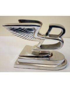 Bentley Flying B Polished Aluminium Reproduction Bonnet Mascot