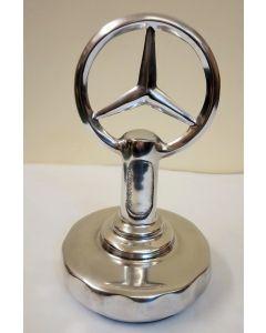 Mercedes Polished Aluminium Reproduction Bonnet Mascot