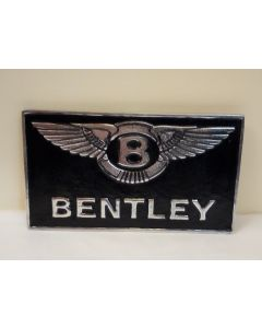 Bentley Wings - Aluminium and Painted Reproduction Metal Sign