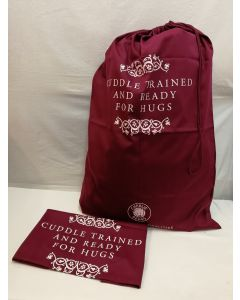 Charlie Bears 'Cuddle Trained and Ready For Hugs' Extra Extra Large Drawstring Gift Bag CBBAGXXL