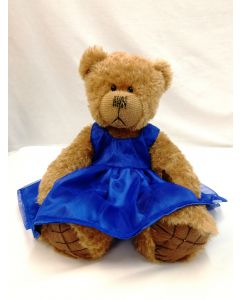ABSTB Tilly Blue Dress from Alice's Bear Shop by Charlie Bears