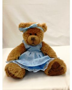 Alice's Bear Shop Clothes - Sandy Blue Dress from by Charlie Bears ABSSB
