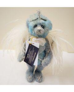 SJ5934A Blue Fairy Mohair Teddy Bear by Charlie Bears