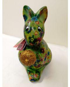Pomme Pidou Money Bank Sam Squirrel Green 33081