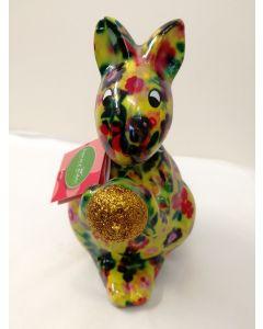 Pomme Pidou Money Bank Sam Squirrel Yellow 33081