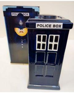 Police Box Ceramic Money Box Puckator LON04