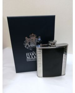 9806/6GF Harvey Makin Collection Hipflask by Widdop&Co