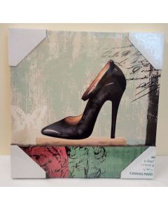 Shoe Canvas Print Home Living by Juliana PK56513