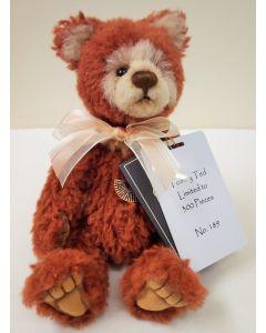 Charlie Bears Tommy Ted Wool Teddy Bear SJ5909A