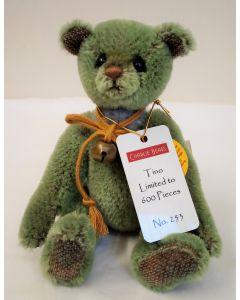 Charlie Bears Tino Minimo Bear Mohair 15cm MM195824C