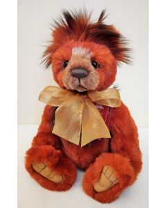 Charlie Bears Brimble Plush Teddy Bear CB202024B