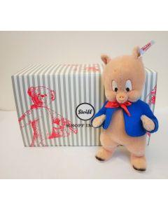 Steiff Warner Bros Porky Pig Mohair 23cm 354496