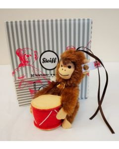 Steiff Jocko Monkey Ornament 8cm 006340