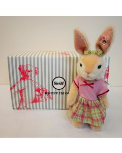 Steiff Rabbit Girl Mohair 21cm 006500