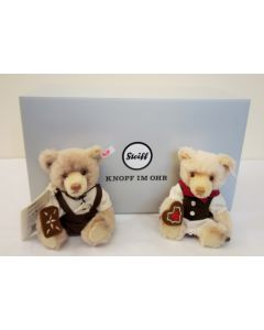 Steiff Hansel and Gretel Teddy Bears Fairy Tale World 006647