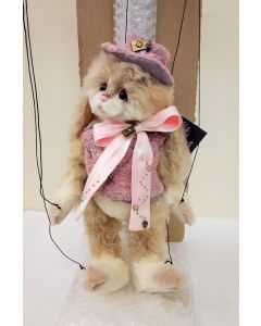 Charlie Bears Starlette Mohair/Alpaca Rabbit - The Marionettes Series SJ6078